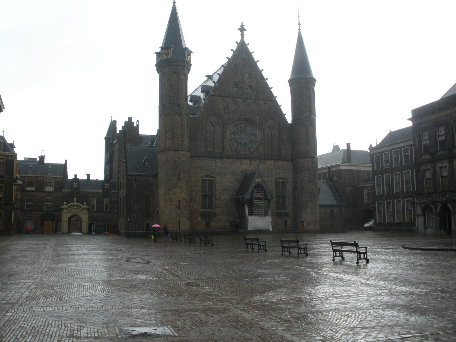 Ridderzaal, edificio principal del Binnenhof