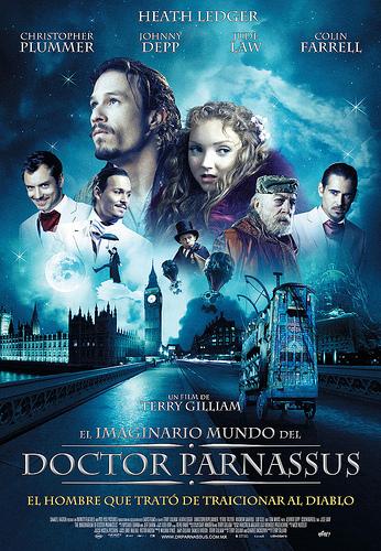 Imaginarium of Doctor Parnassus  El Imaginario del Doctor ParnassusThe Imaginarium Of Doctor Parnassus Poster