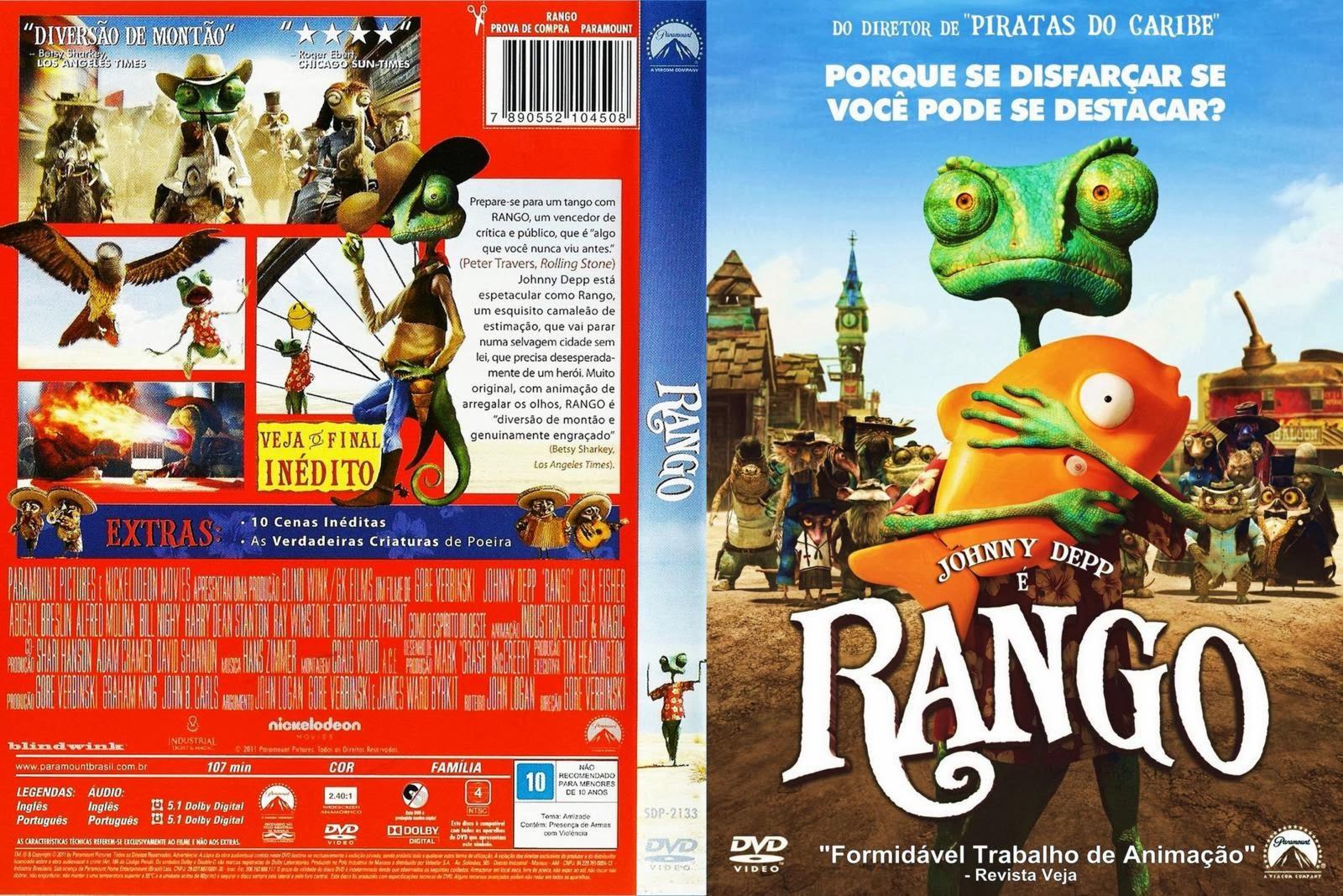 Rango DVD Capa