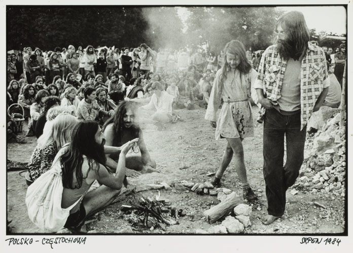 Naked hippies from the 60s