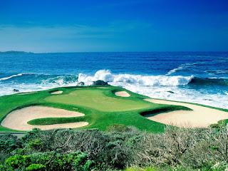 Golf Field Wallpaper HD