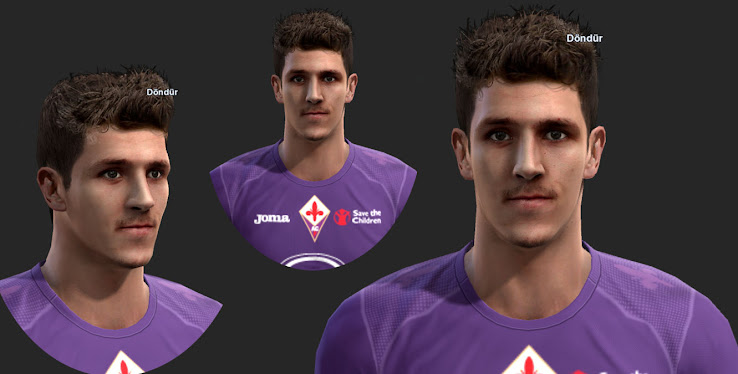 PES 2013 Stevan Jovetic Face by ilhan