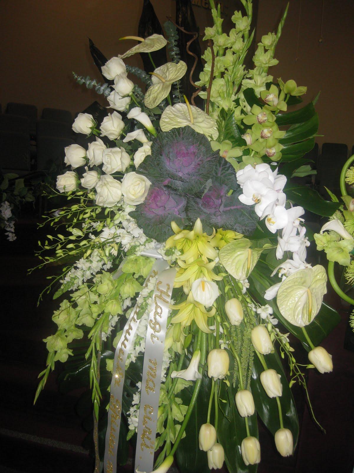 Amazing Floral Design Funeral Arrangements