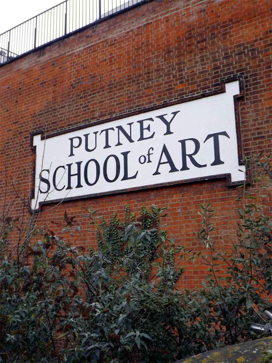 putney school of art sign