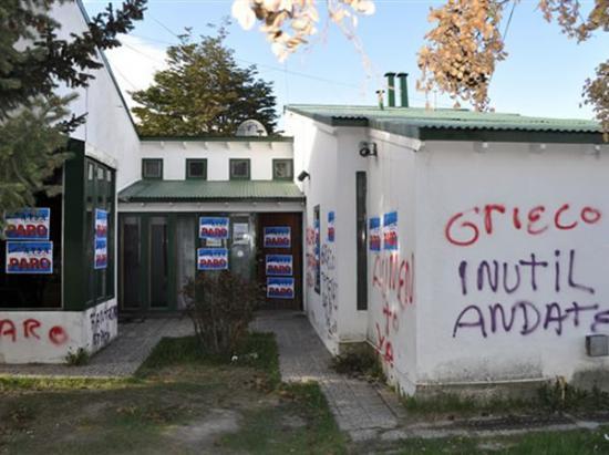 Grieco denuncio a ATE por escrache en Salud