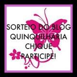 1° Sorteio do blog Quinquilharia chique