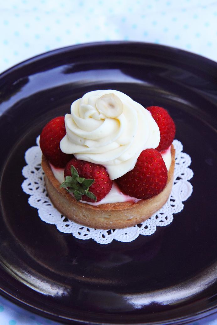 Gourmet Baking: Lemon Tart with White Chocolate Cream and ...