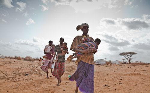 Campo de refugiados de Dadaab (Hambruna en África)