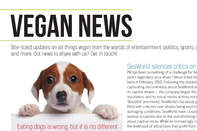 Vegan Life Magazine, Issue 8 September 2015. Reviewed by UK vegan blogger secondhandsusie.blogspot.com