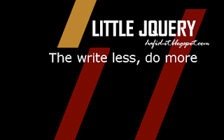 Little jquery, write less do more