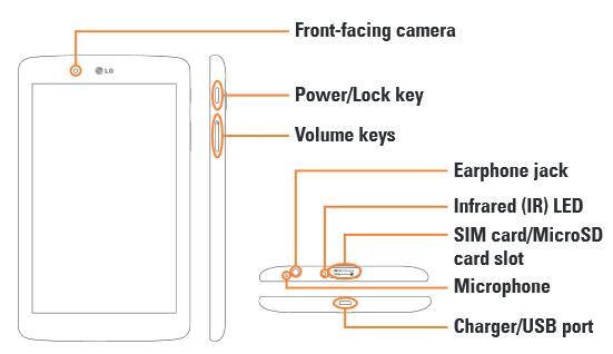 LG G Pad 7.0 LTE Tablet
