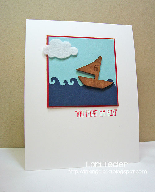 You Float My Boat-designed by Lori Tecler/Inking Aloud-stamps from Avery Elle