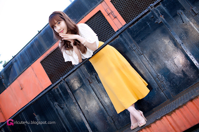 3 Im Min Young - Outdoor-very cute asian girl-girlcute4u.blogspot.com