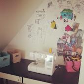 My creative space aka. rodehjørnet