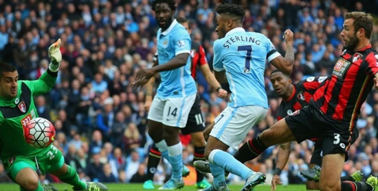 Manchester City 5 x 1 Bournemouth - Premier League 2015/16