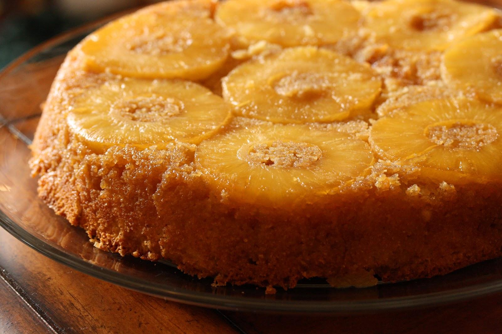 No Pineapple Upside Down Cake