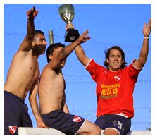 "INDEPENDIENTE CAMPEÓN ""TEMPORADA"" 2010"
