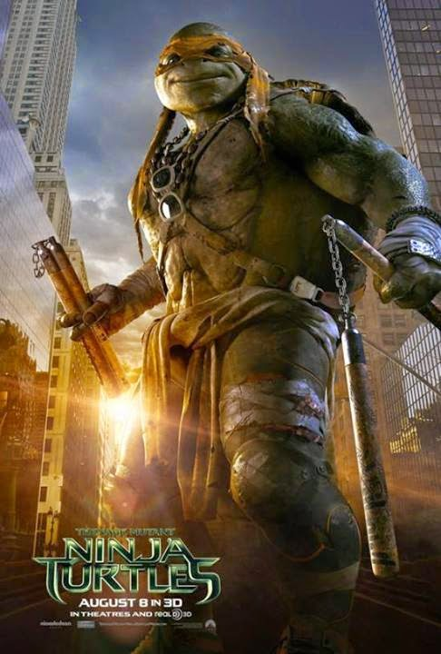 Teenage Mutant Ninja Turtles 2014 HDRip 300mb 480p ESub