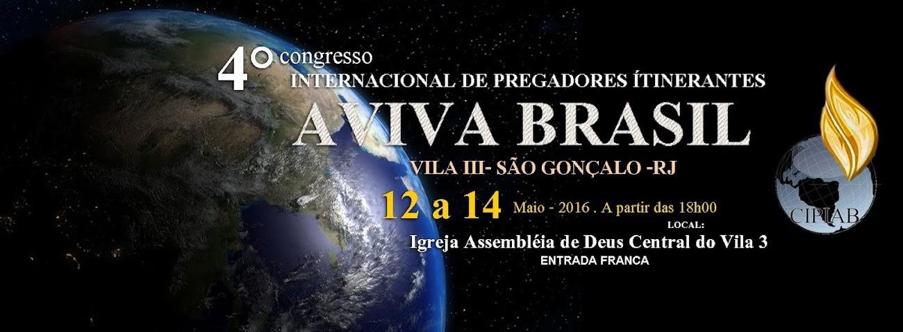 Congresso de Pregadores Itinerantes Aviva Brasil