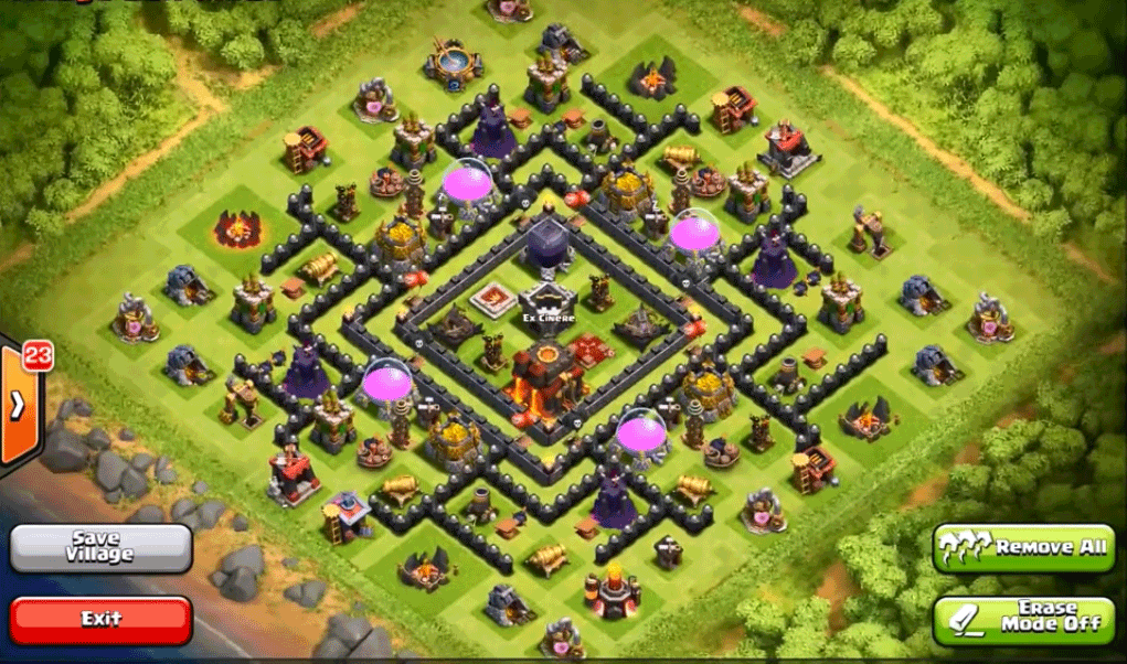 9 town hall level