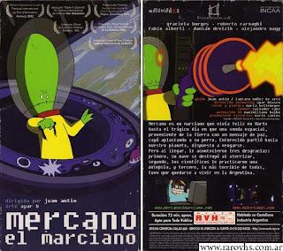 Mercano, el marciano (2002) Animación argentina