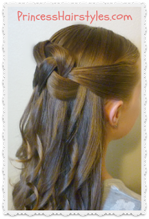 bridal hairstyle, woven knot video tutorial