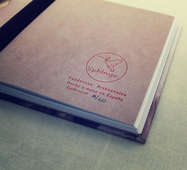 libreta personalizada sphinge