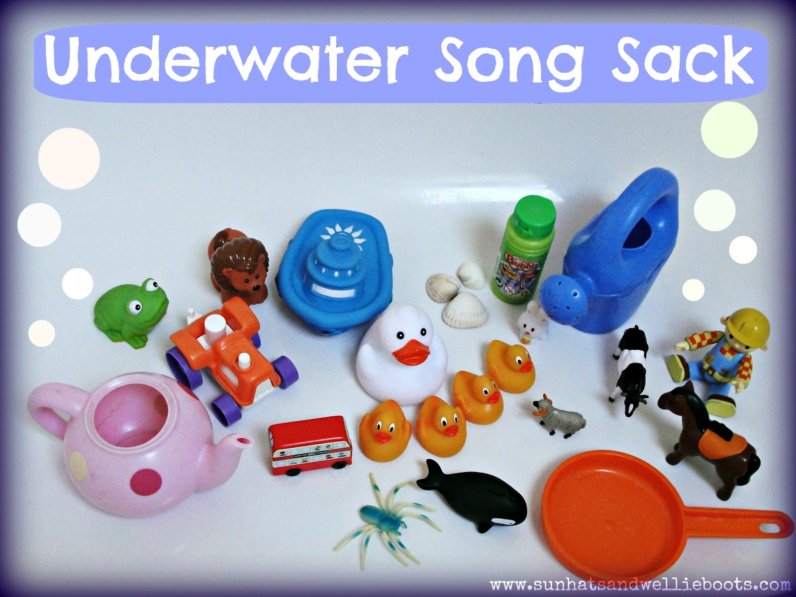 Sun Hats & Wellie Boots: Underwater Song Sack