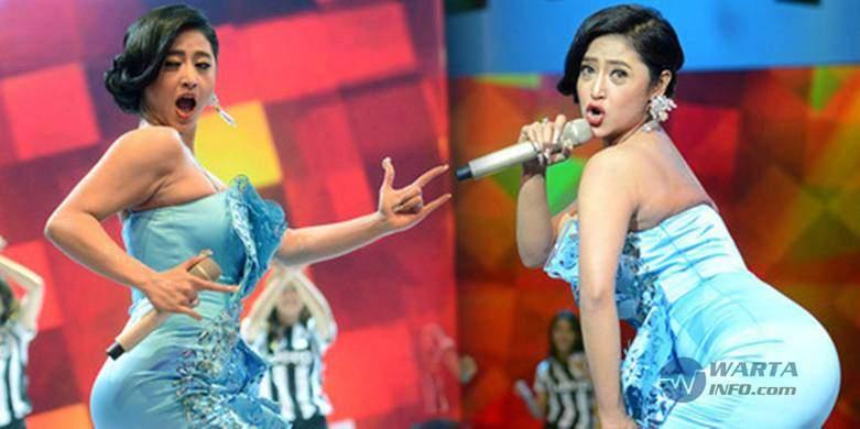 Video Goyangan dangdut super hot heboh panas dan gila penyanyi dewi persik di hujat