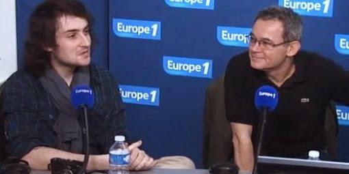 Edouard Elias et Didier François ce lundi matin sur Europe 1 © Europe 1