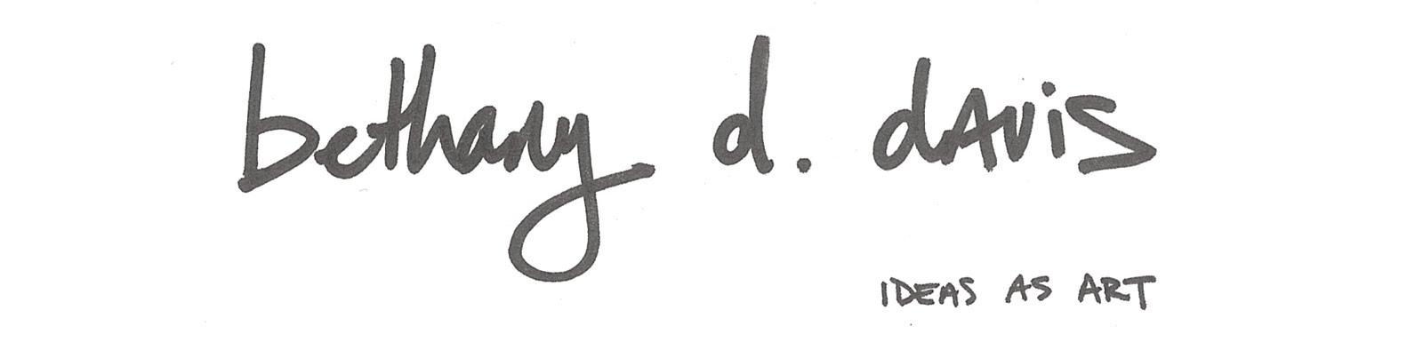 Ideas For Art Sketches. bethany d davis- ideas as art-
