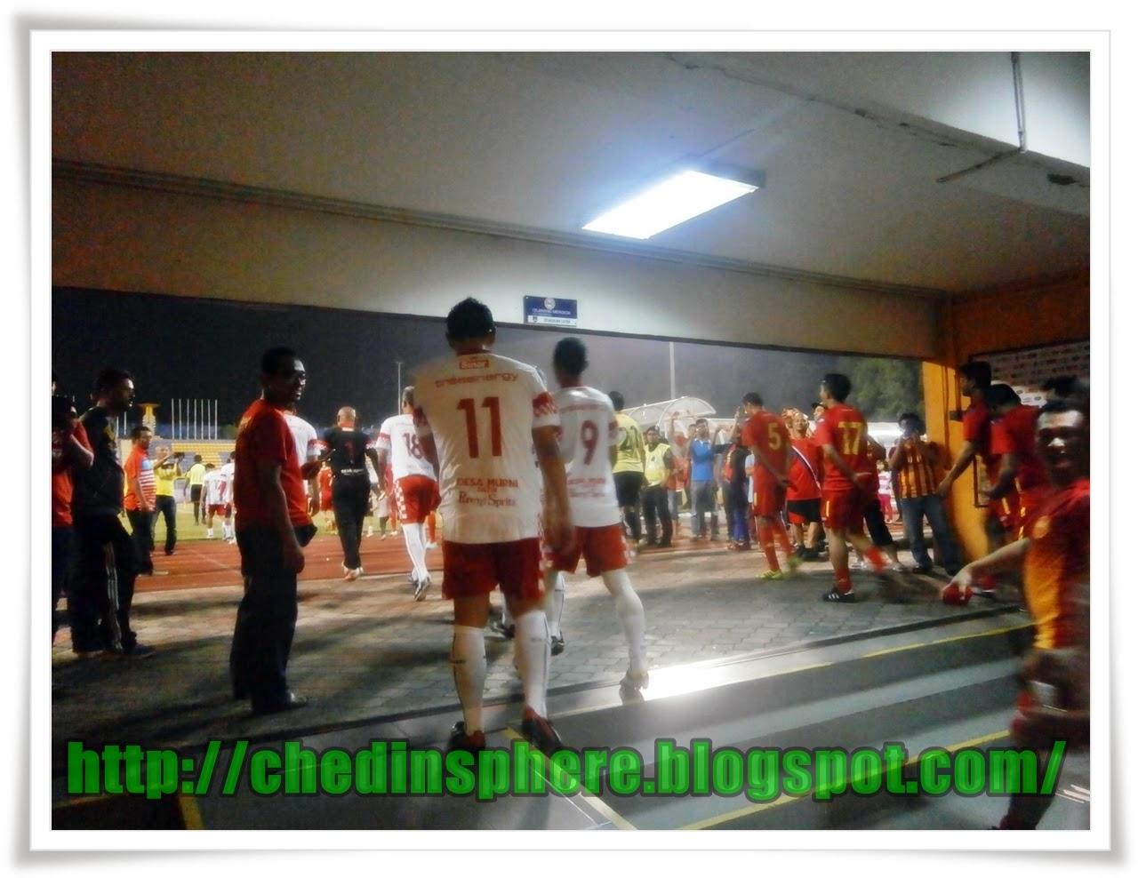 Aksi Bekas Pemain Selangor, KelantanImbas Nostalgia Lama.