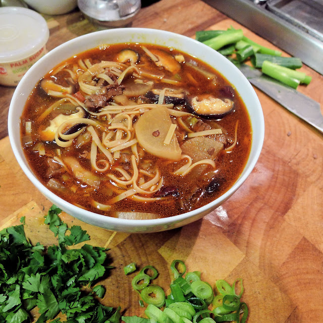 Culinary Adventures in London: Sichuan Style Beef & Mooli Noodle Soup