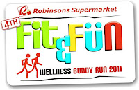 Robinson's Fit and Fun Wellness Buddy Run July 17, 2011