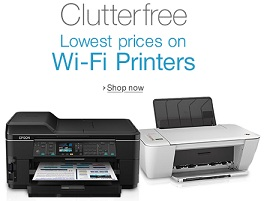 Wi-Fi Multi-Function / Single Function Inkjet / Laser Printers – Upto 31% Off starts from Rs.4500 @ Amazon