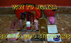 "Sorteo en el blog ""Vive tu belleza"""