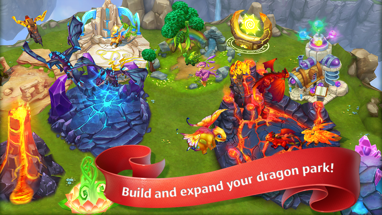 Game Android Dragon World