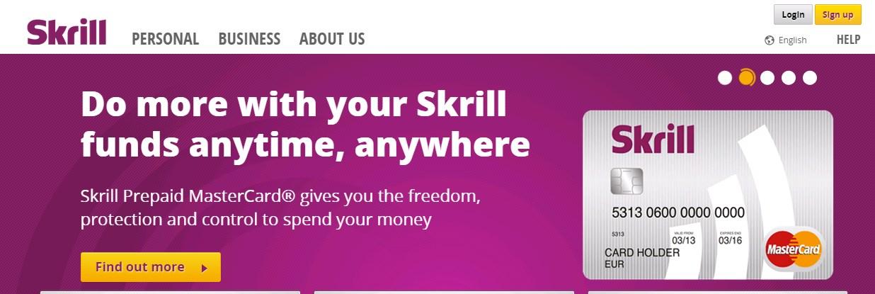 Skrill MasterCard in Nepal