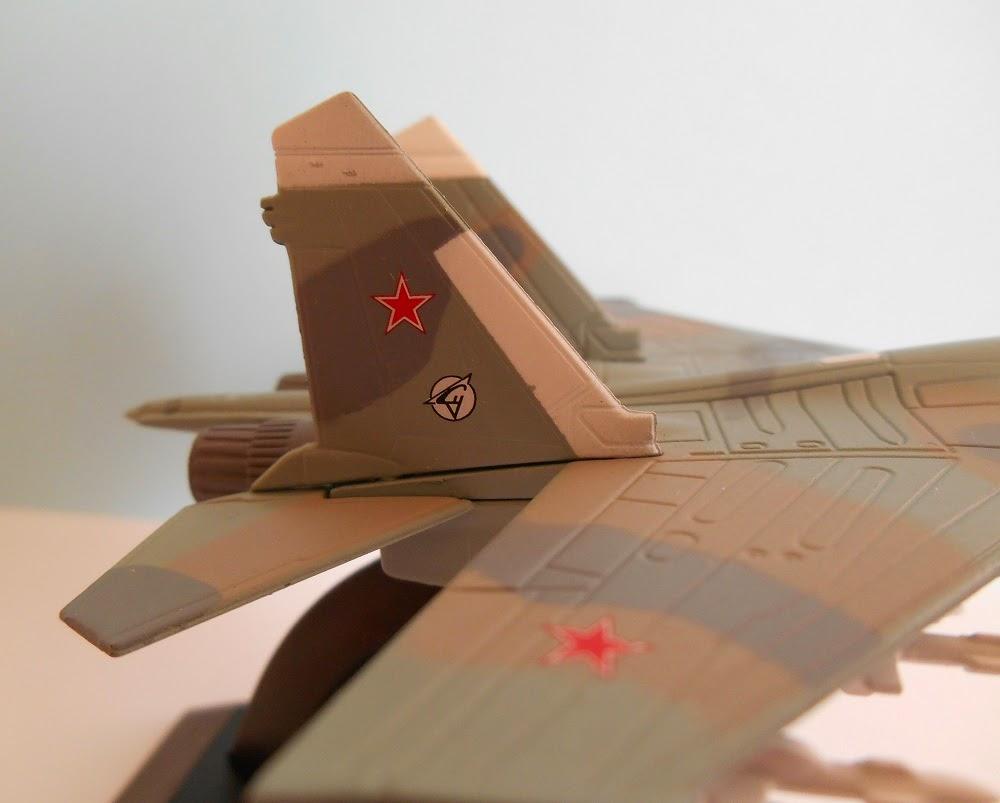 maqueta de colección de aviones sovieticos