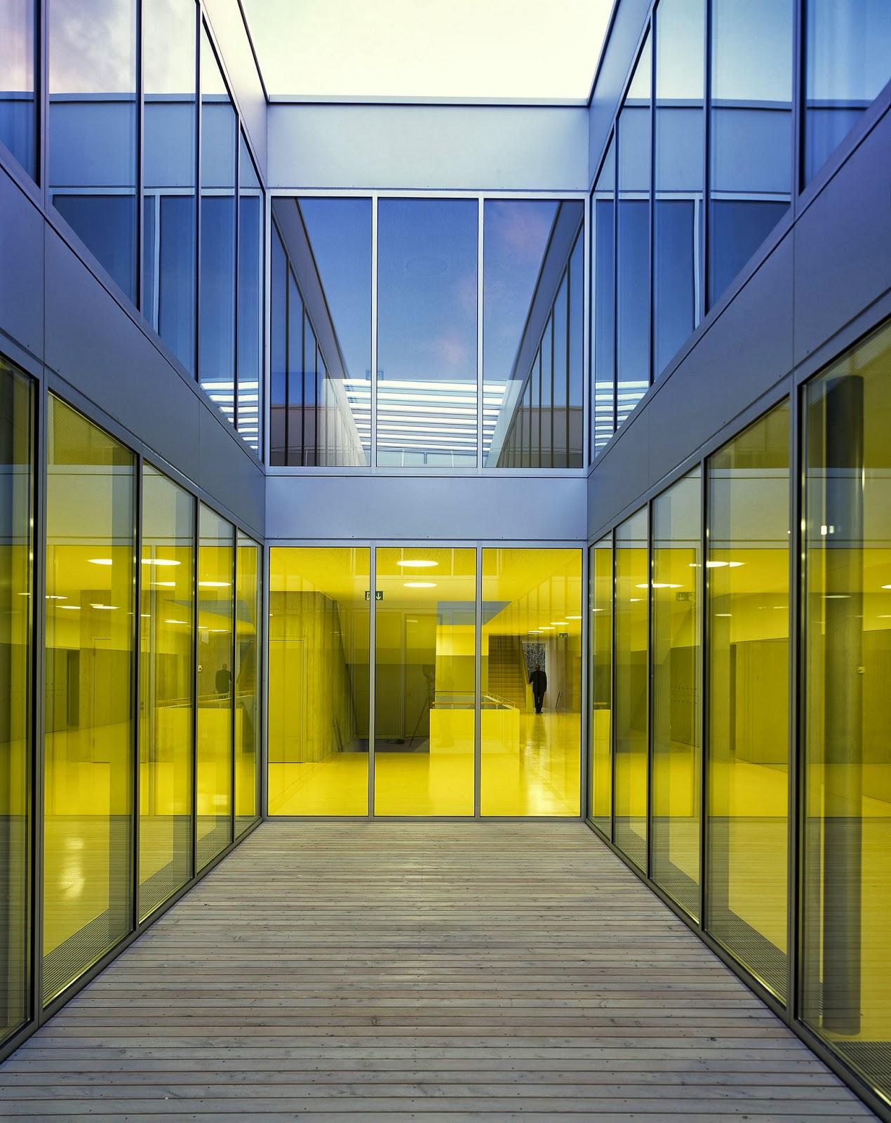 arquitectura zona cero: AMARILLO ESCOLAR / COLEGIO EN CUGY ... - photo#47