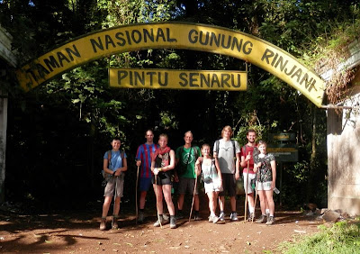Mount Rinjani National Park the Best mount treks in South East Asia