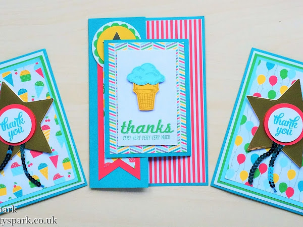 7 Days of Teacher Treats for End of Year Gifts - #4 Part 2.... Bookmark Gold Star Thank You Card