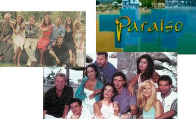 Reparto y logo de la serie de los veranos de TVE Paraíso