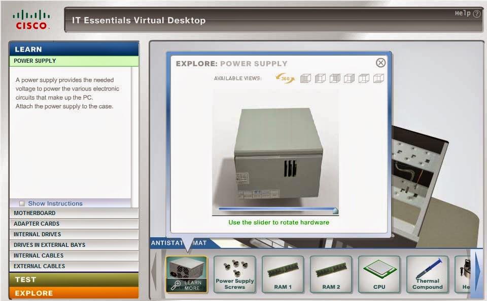 simulasi merakit computer cisco