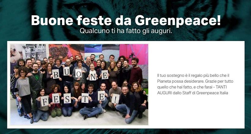 Grazie Greenpeace