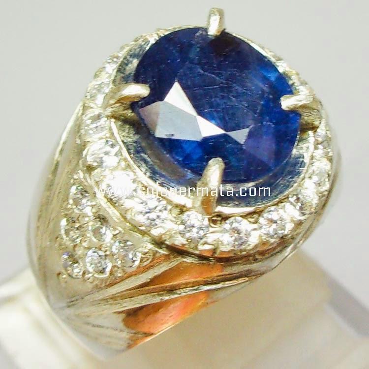 Batu Permata Royal Blue Sapphire - Sp016