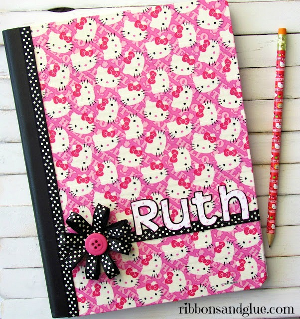 Hello Kitty Duct Tape Journal