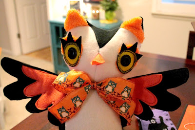 Sweet Halloween Owlet by I Sew Cute
