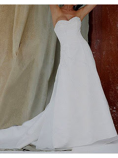 Alberta White Fall Wedding Dress