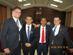 Elder Christiansen and Two New Elders, 8/14